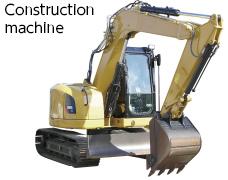 Constructionmachine.